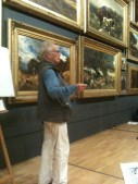 John Wolseley enthuses us to look at the energy inside the painting at NGV in January 2013