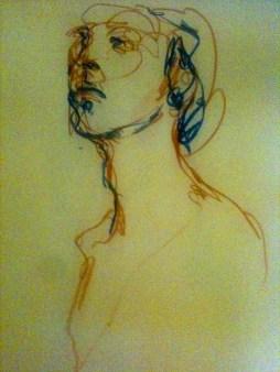 Female portrait - Roar Drawing 2