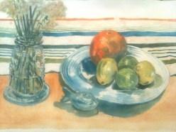 Citrus and jonquils - wash