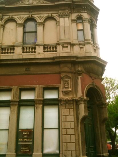 Australasia Bank Kensington 1891 Entrance