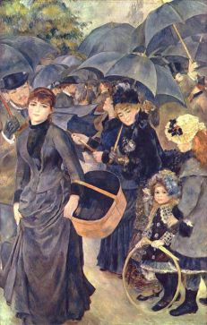 Les Parapluies (The Umbrellas) Pierre Auguste Renoir
