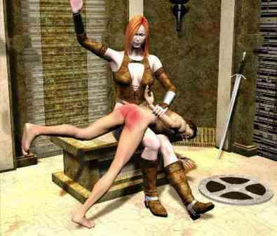 Medieval Spanking