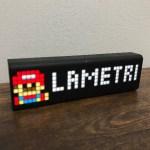 ネットワーク接続して様々な情報を表示できる『LaMetric Time』が実に面白い。