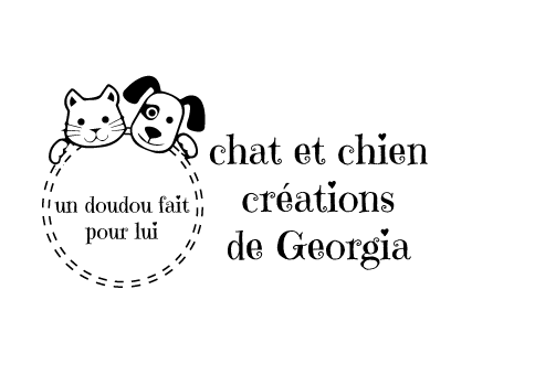 identité visuelle de chat et chien créations de Georgia