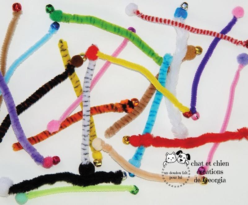 Vermi'son, jouet pour chat créé par Georgia