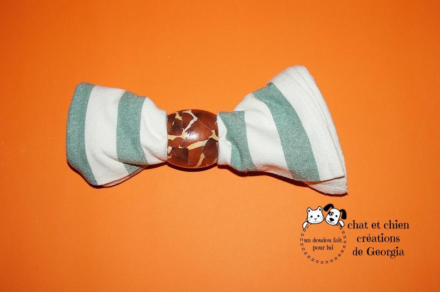 rond de serviette, créé par Georgia pour les Pet's parents