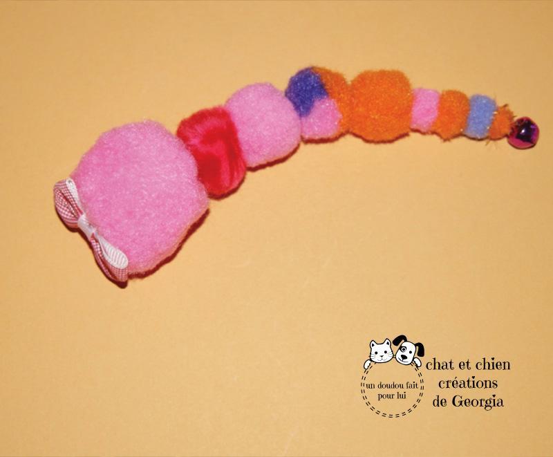 Mme Cheni'son, jouet pour chat créé par Georgia