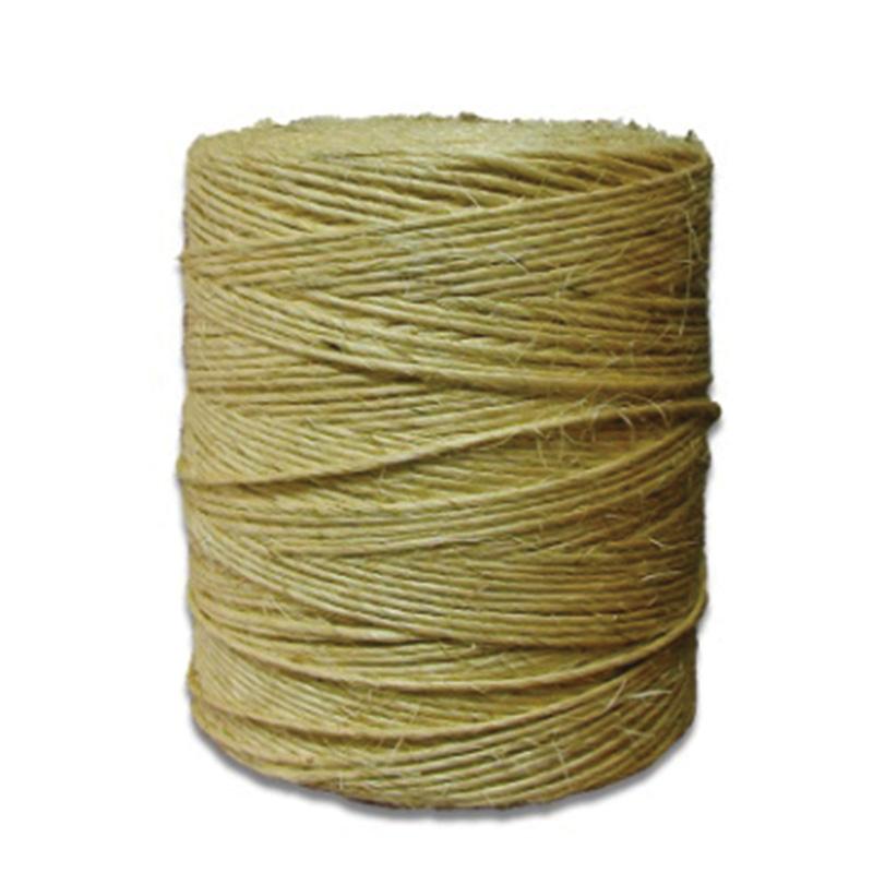 Sisal, matière naturelle utilisée par Georgia pour créer des jouets pour chat et chien