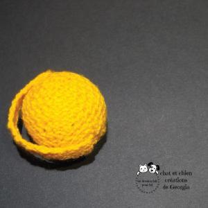 Ballanse, balle créée par Georgia pour chat et chien