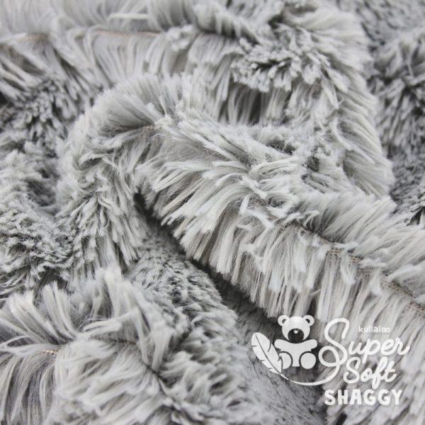 tissu Shaggy gris pour création par Georgia
