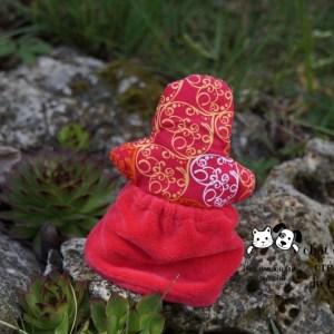 Rominette poupée pour chat créée par Georgia