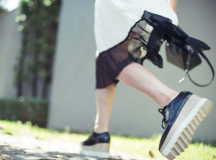 Sapatos masculinizados