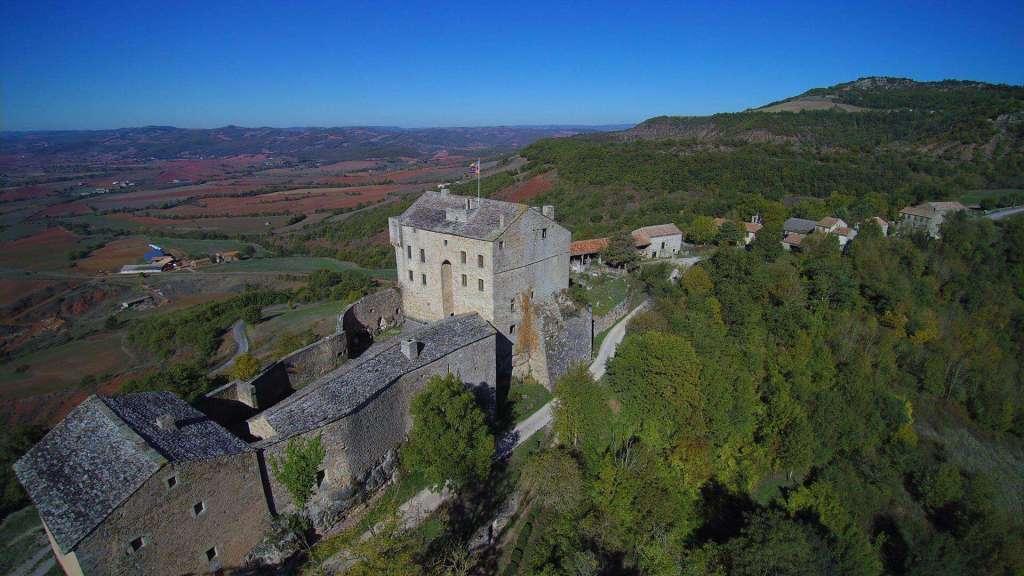 La restauration du château