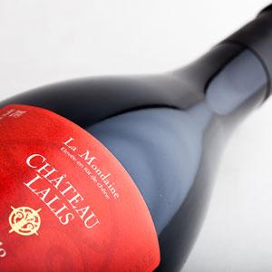 La mondaine château Lalis vin rouge