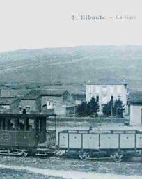 gare de Ribaute en 1902