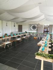 Salle centrale - Configuration mariage