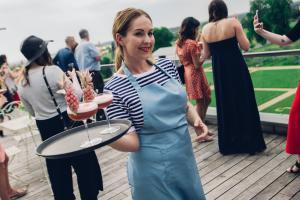 chateau de jalesnes hotel loire valley france events waitress