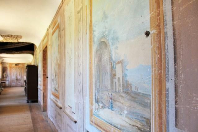 Saconay - La grande galerie