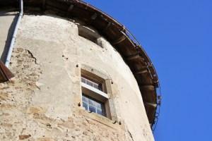 Saconay - Le toit de la tour Est