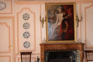 Saconay - Le trumeau de la grande salle-à-manger