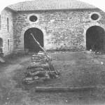 Saconay - Les écuries disparues dans un incendie au XIX°