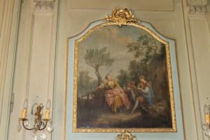 Saconay - Trumeau de la chambre du seigneur