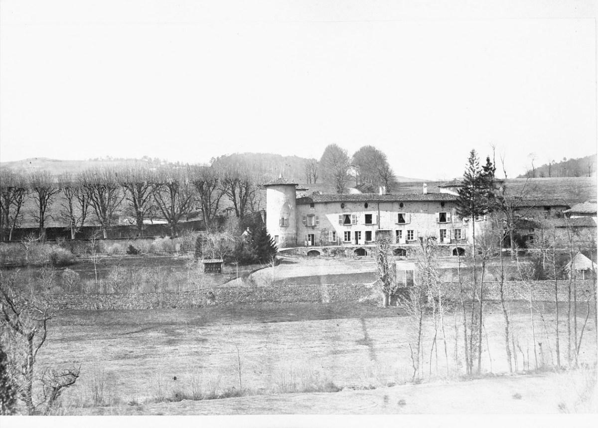 Saconay - Vue d'ensemble avant les travaux du XIX°