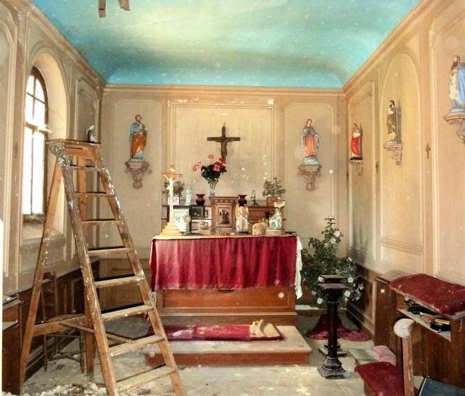 Saconay - La chapelle avant les travaux