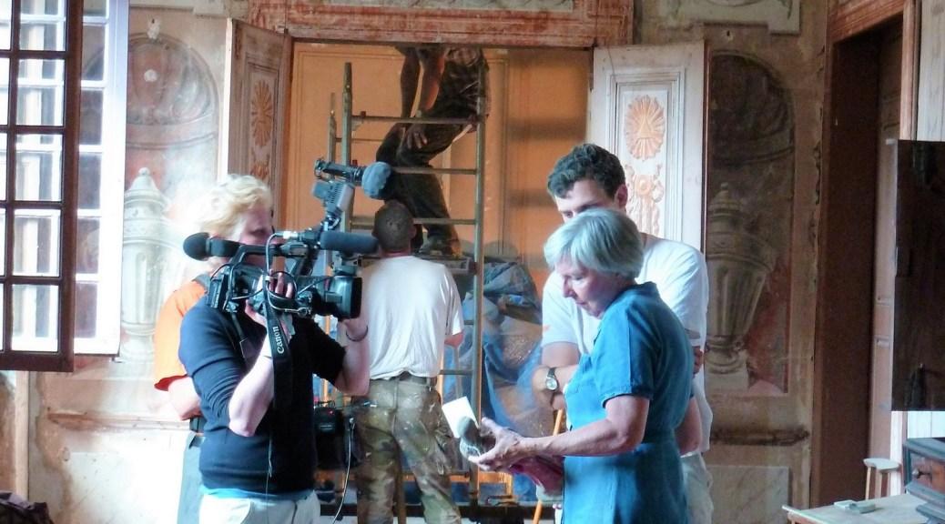 Saconay - tournage TF1