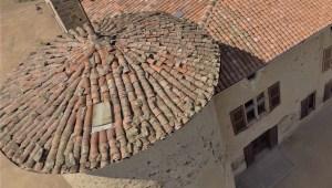 Saconay - Toit de la tour du midi