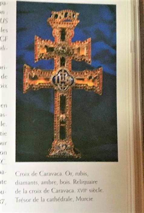 Saconay - Une croix de Caravaca