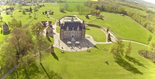 Château Tilly - Présentation - Prise Aérienne