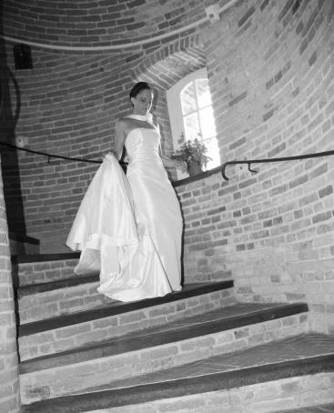 Château Tilly - Mariage - escalier