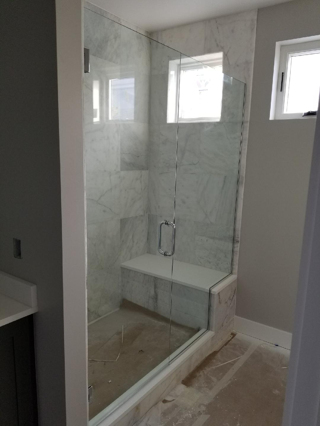 New shower enclosures   Chateau Window And Shower Enclosure