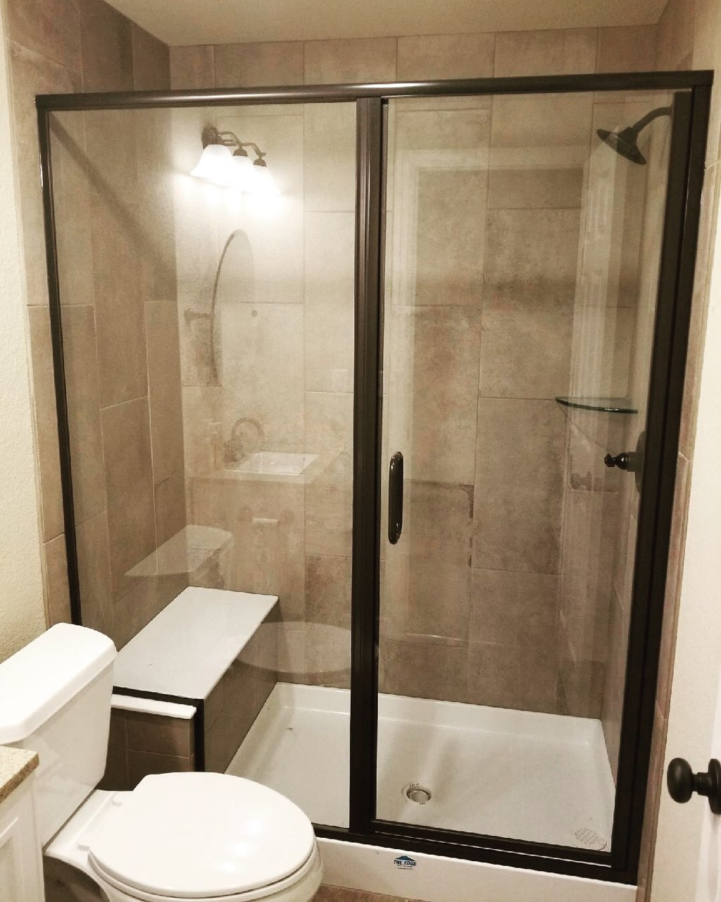 Arizona semi frameless door | Chateau Window And Shower Enclosure