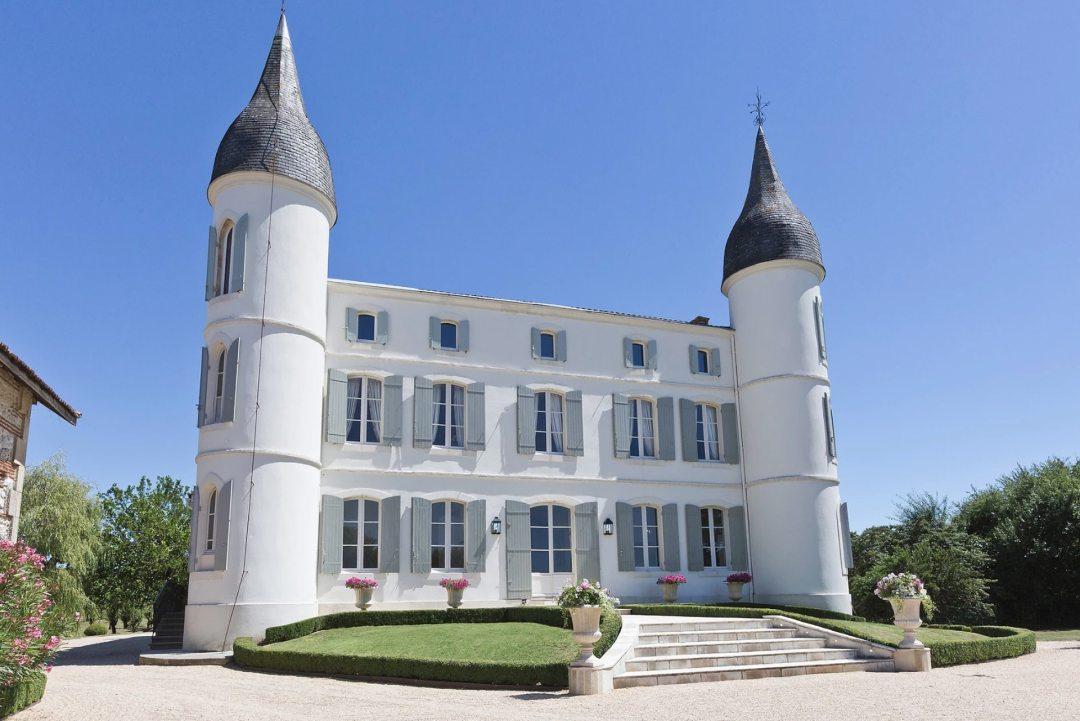 Château Tourelles Front Large