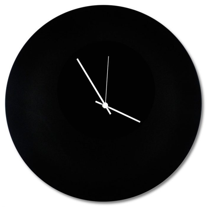 b&w wall clocks