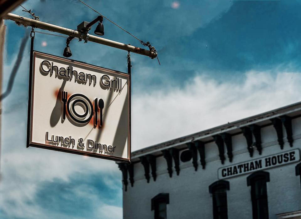 The Chatham Grill is open seven days a week for lunch and dinner.