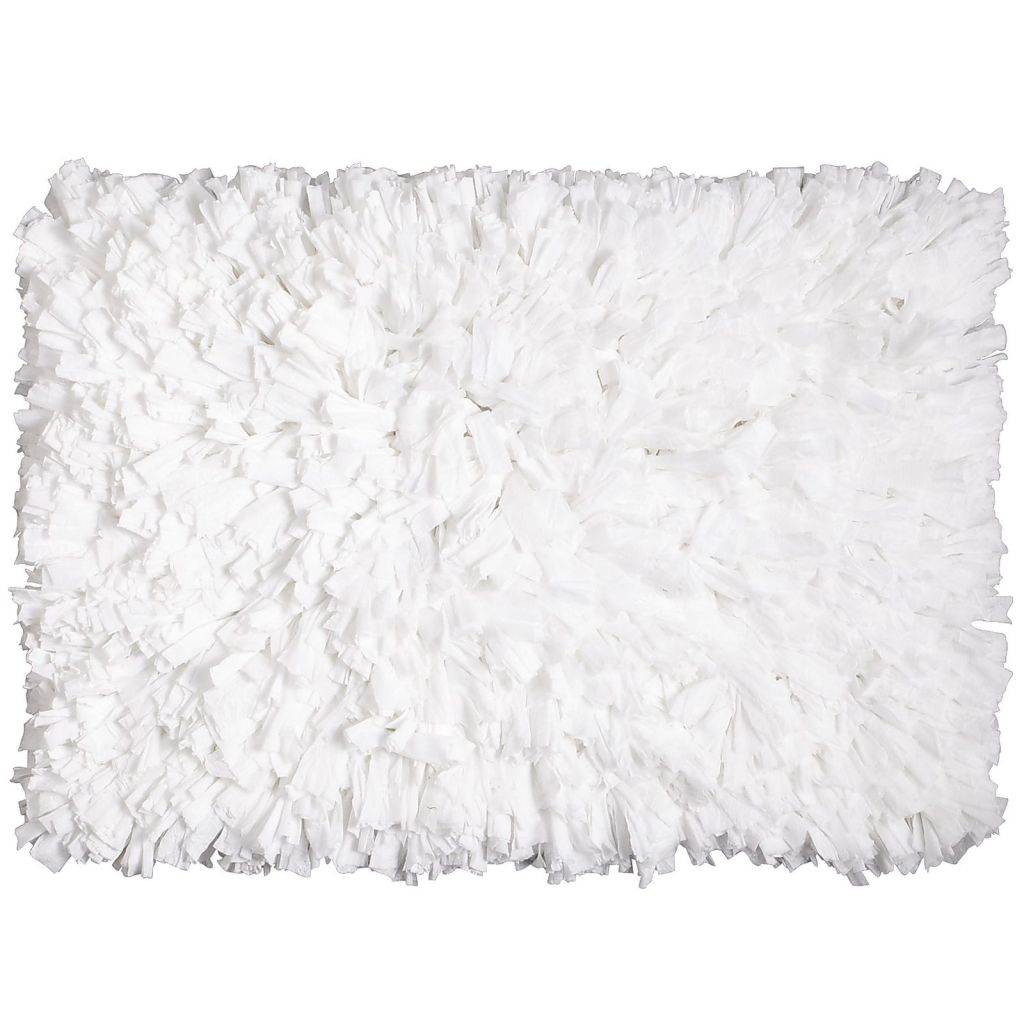 Pier 1 Imports white fluffy rug www.chathamhillonthelake.com