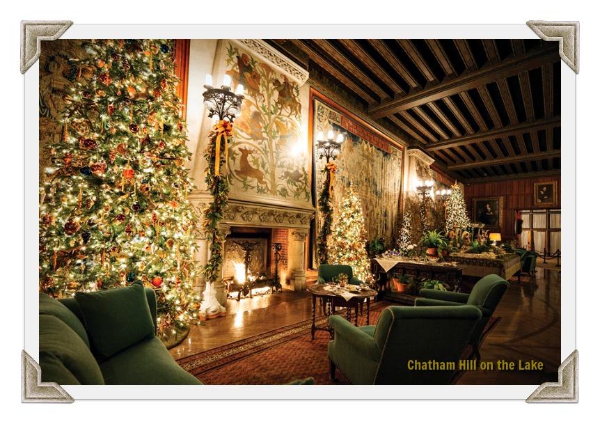 Christmas Decor at The Biltmore Estate