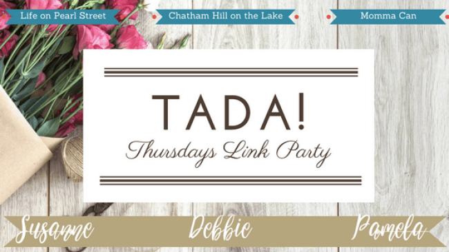 TADA Thursdays Link Party www.chathamhillonthelake.com