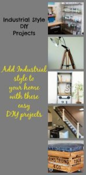 Industrial Style DIY from Life on Pearl Street
