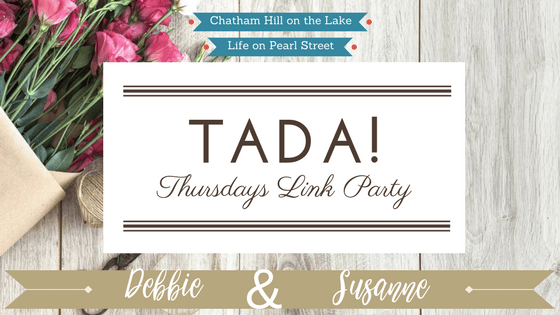 TADA! Thursdays Link Party at www.chathamhillonthelake.com