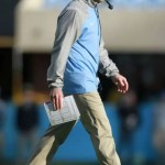 UNC football coach Larry Fedora