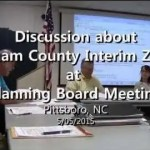 Chatham County Wide Interim Zoning