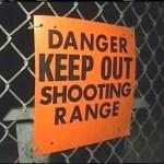 Gun Range sign