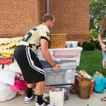 WFU Move In Day 2012