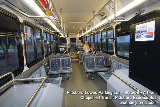 Pittsboro Express Bus