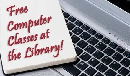 free computer classes at Chatham Library