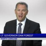 North carolina Lt. Governor Dan Forest